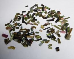 85 carats tourmaline rough lot no reserve excellent terminated crystals