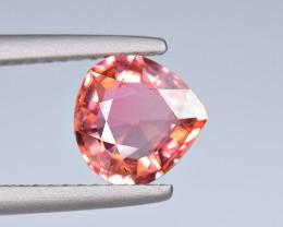 1.39Carat Peach Color Tourmaline Cut Gemstone