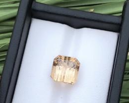 GGI Certified 9.49 cts ct Natural Tourmaline  Ring Size