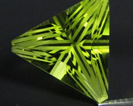 8.44Cts Genuine Natural Lemon Quartz Triangle Cut Loose Gemstone REF VIDEO