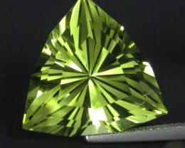 11.12Cts Genuine Natural Lemon Quartz Fashion Radiant Cut Loose Gemstone RE