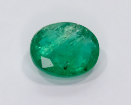 2.35ct Lab Certified Zambian Emerald