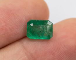 2.44ct Lab Certified Zambian Emerald