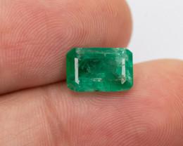 2.05ct Lab Certified Zambian Emerald