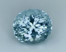 $950 NR Top Quality 5.10 Cts Natural Blue Aquamarine Gemstone