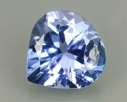 0.85 CTS EXCELLENT NATURAL RARE TOP QUALITY BLUE TANZANITE