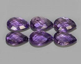 11.30 CTS  NATURAL ULTRA RARE LUSTER PURPLE AMETHIYST GEM!!