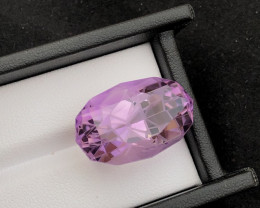 Top Grade Spider Cut 34.10 cts of Natural Amethyst Ring Size