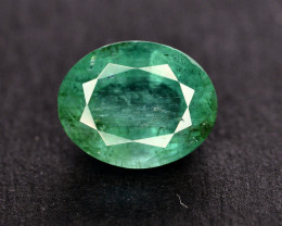 2.30 Ct Brilliant Color Natural Zambian Emerald
