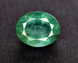 2.30 Ct Brilliant Color Natural Zambian Emerald