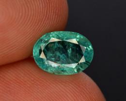 2 Ct Brilliant Color Natural Zambian Emerald