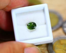1.82ct Natural Greenish Sapphire Oval Cut Lot B3428