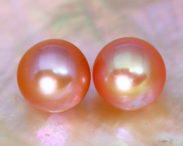7.8mm 6.74Ct Natural Australian South Sea Pink Color Pearl B0612