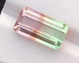 10.52 carats, Natural  Bi Color Tourmaline