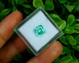 Emerald 1.17Ct Colombian Muzo Emerald Neon Mint Green Beryl B0625