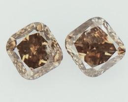 0.39 cts Fancy Colored Diamonds , Fancy Shaped Diamond