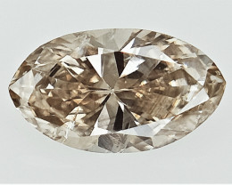 0.24 cts Fancy Colored Diamonds , Fancy Shaped Diamond