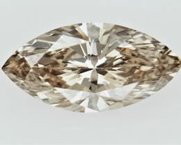 0.21 cts  , Brown Diamond