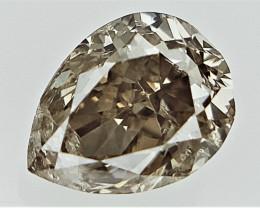 0.18 cts Fancy Colored Diamonds , Fancy Shaped Diamond