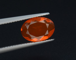 Mexican Fire Opal  1.68 Cts Faceted Gemstone
