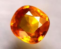 Sapphire 1.20Ct Natural Fancy Yellow Sapphire E0615/A16