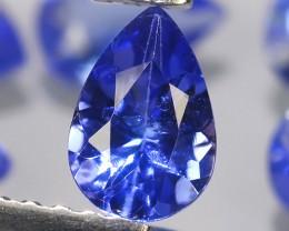 3.55 CTS EXCELLENT NATURAL  BLUE TANZANITE 9 PCS PAER PARCEL