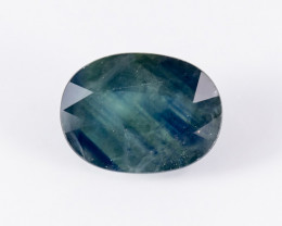 4.91ct Lab Certified Natrual Blue Sapphire
