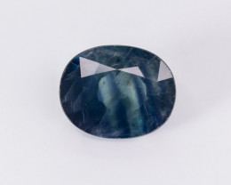 3.64ct Lab Certified Natrual Blue Sapphire