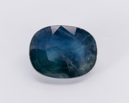 4.00ct Lab Certified Natrual Blue Sapphire