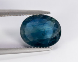 3.66ct Lab Certified Natrual Blue Sapphire