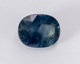4.27ct Lab Certified Natrual Blue Sapphire