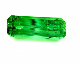 Green Tourmaline 3.45ct Natural Untreated