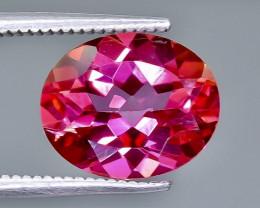 4.14 Crt Topaz Pink Faceted Gemstone (Rk-13)