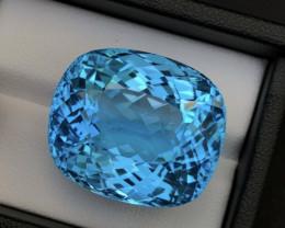 Sky Blue Topaz 70.85Ct Natural Blue Topaz Topaz Gemstone