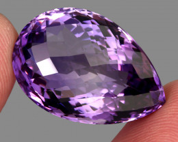 36.90 ct. Natural Earth Mined  Top Quality Purple Amethyst Unheated Uruguay