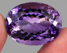 38.32 ct. Natural Earth Mined Top Quality Purple Amethyst Unheated Uruguay