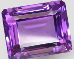 27.08  ct Natural Earth Mined Top Quality Unheated Purple Amethyst,Uruguay