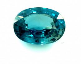 Blue Zircon 3.75ct Sourced Cambodia