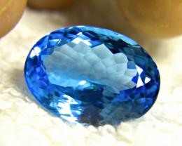 24.32 Carat South American Blue Topaz - Gorgeous