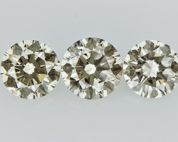 0.48 cts Round Brilliant Cut , Light Colored Diamond