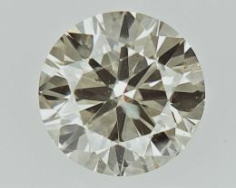 0.30 cts  Round Brilliant Cut , Light Colored Diamond