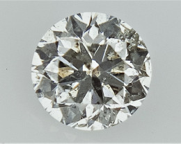 0.39 cts Round Brilliant Cut , Light Colored Diamond