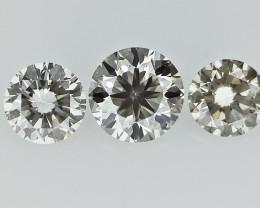 0.31 cts  Round Brilliant Cut , Light Colored Diamond