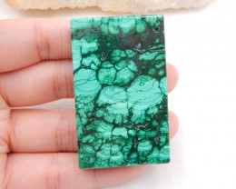 i098 - 250.5cts Large Cabochon,Natural High Quality Malachite Square Caboch