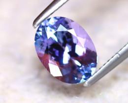 Tanzanite 1.31Ct Natural VVS Purplish Blue Tanzanite D0721/A45