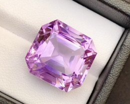 Amazing 19.60  Ct Gorgeous Color Natural Amethyst Amethyst