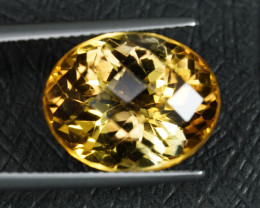 LARGE 10CT+ NATURAL CITRINE with EXCELLENT FIRE