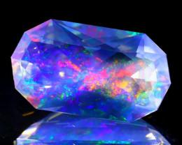 ContraLuz 6.25Ct Octagon Cut Mexican Very Rare Species Opal B0803