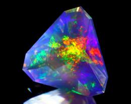 ContraLuz 1.28Ct Precision Cut Mexican Very Rare Species Opal B0810