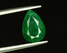 1.70 ct Natural Zambian Emerald